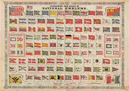 Johnson's National Emblems, 1868