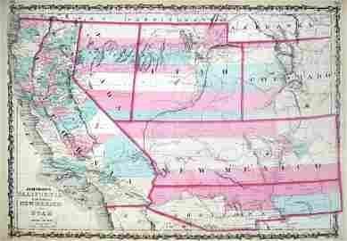 Calif. Terr. of N. Mex. & Utah, 1862 - Johnson