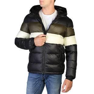 Alessandro Dell'Acqua Men's Multi-Color Puffer Coat