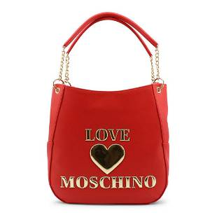 Love Moschino RED Oversized Shoulder Bag