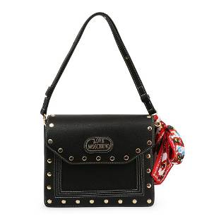 Love Moschino Tan Scarf Accessory Shoulder Bag