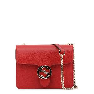 Gucci Fire Red Crossbody Bag