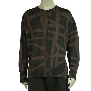 Vivienne Westwood Man Sweater 100% Wool Knit Black &