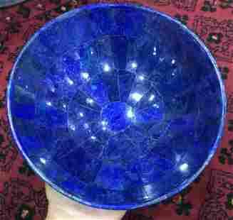 940 GRAM HAND CRAFTED, STUNNING ROYAL BLUE LAPIS LAZULI