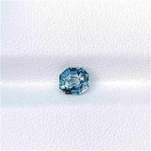 Natural Ceylon Blue Sapphire 1.04 Cts Cushion Cut Loose