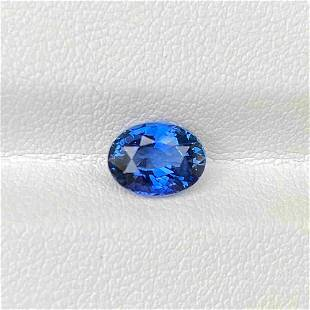 Natural Sri Lanka Blue Sapphire 1.83 Cts Oval Cut Loose