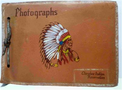 Photo Album,1951 - The Cherokee Indian Reservation,