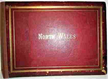 VIEWS Of NORTH WALES - Late 1800s LARGE FORMAT PHOTO