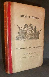 Scenes In Europe For Tarry-At-Home Travellers- 1823