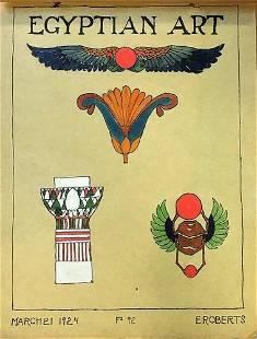 "1924-1926 ""Historic Art"" School Project"