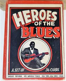Heroes of the Blues - 1st Edition Waverly Place, NYC