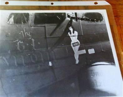 World War II Nose Art - Photographs in Album Binder