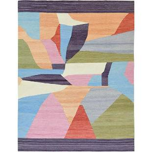 THE CANDY STORE Flat Weave Kilim Hand Woven Wool