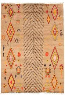 "Pak Finest Marrakesh Light Brown Rug 8'8"" x 12'4"""