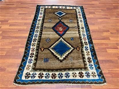 Modern Persian Tribal Gebbeh Rug-2883