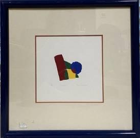 Jens Schmacker, 4 colors, Framed, signed