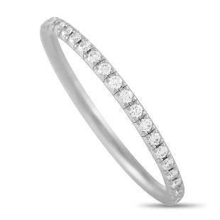 Tiffany & Co. Platinum 0.35 ct Diamond Eternity Band
