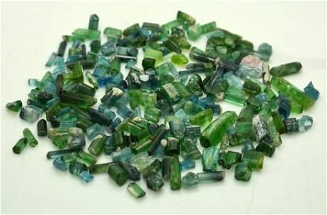 41 Grams Beautiful Blue Tourmaline Rough Crystals Lot