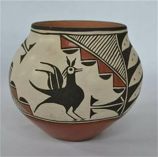 Zia Native American Pottery Jar