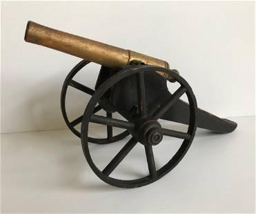 Toy Wooden Cannon by Schoenhut