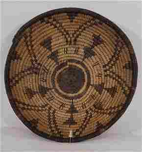 Apache woven basket ca 1910