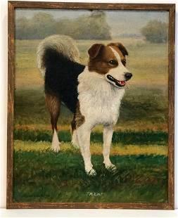 Edgar Cantelon: Rex Dog Painting, 1920