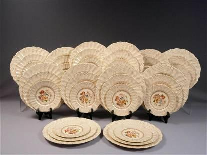 Royal Doulton GRANTHAM FULL SET for 12 Dinner Bread