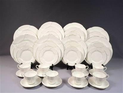 Royal Albert CLAIR DE LUNE Set for 8 Salad Bread Dinner