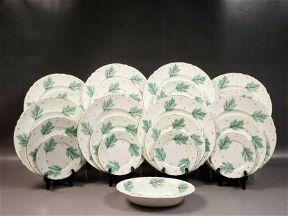 Shelley Drifting Leaves Dinner Set Bone China England