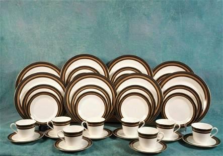NEW ROYAL DOULTON Cadenza FULL SET for 8 Dinner cups