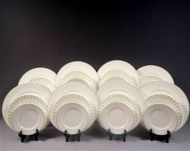 Marc Jacobs Waterford Jean DINNER SET Plates Fine Bone