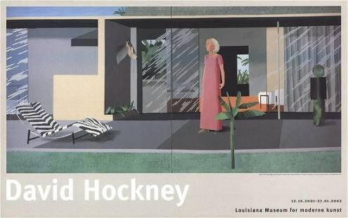 David Hockney - Beverly Hills Housewife - 2001 Offset