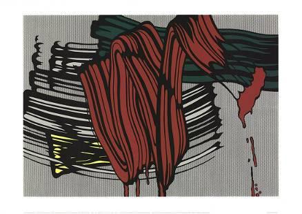 Roy Lichtenstein - Big Painting #6 - 2000 Serigraph