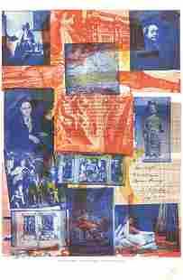 Robert Rauschenberg - Centennial Certificate - 1970