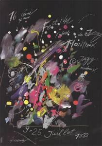 Jean Tinguely - Montreux Jazz Festival - 1982 Offset