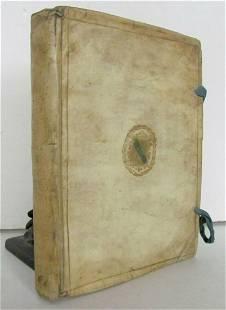 1646 VELLUM BOUND DUTCH HISTORY antique