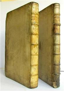 1715 2 VOLUMES Georgii Buchanani Scoti Poetarum antique