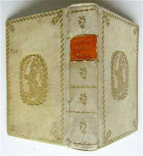 1777 IMMORTAL ROMAN GODS ILLUSTRATED antique