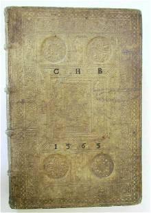 1565 Wolfgang Musculus In divi Pauli BLIND-STAMPED