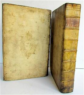 1722 2 VOLUMES Commentary on Isaiah by C.Vitringa