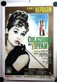 """Breakfast at Tiffany's (Italy, 1962) 39.5"""" x 55"""" Movie"""
