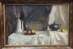 Oil painting Still life Alexey Fedorovich Vlasov