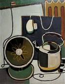 Abstract oil painting Kettle included Julia Levitskaya