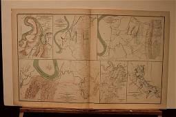 1892 Tennessee Civil War Map
