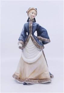 Royal Worcester Figurine Winters Morn