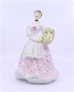 Royal Worcester Figurine Spring Fair