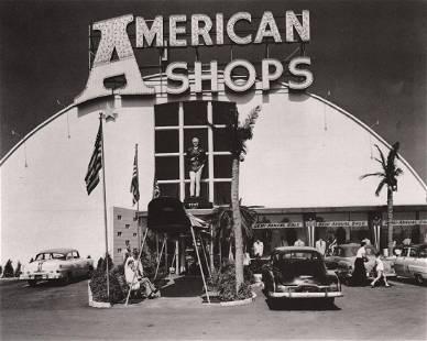 BERENICE ABBOTT- American Shops, NJ