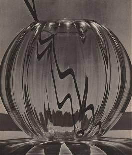 FRED R. ARCHER - Glass Vase, 1930's