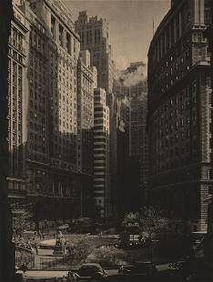 MARIO BUCOVICH - Bowling Green, NYC, ca 1930's