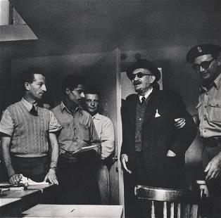 ROBERT CAPA - Dr. Weizmann, Israel President, 1948